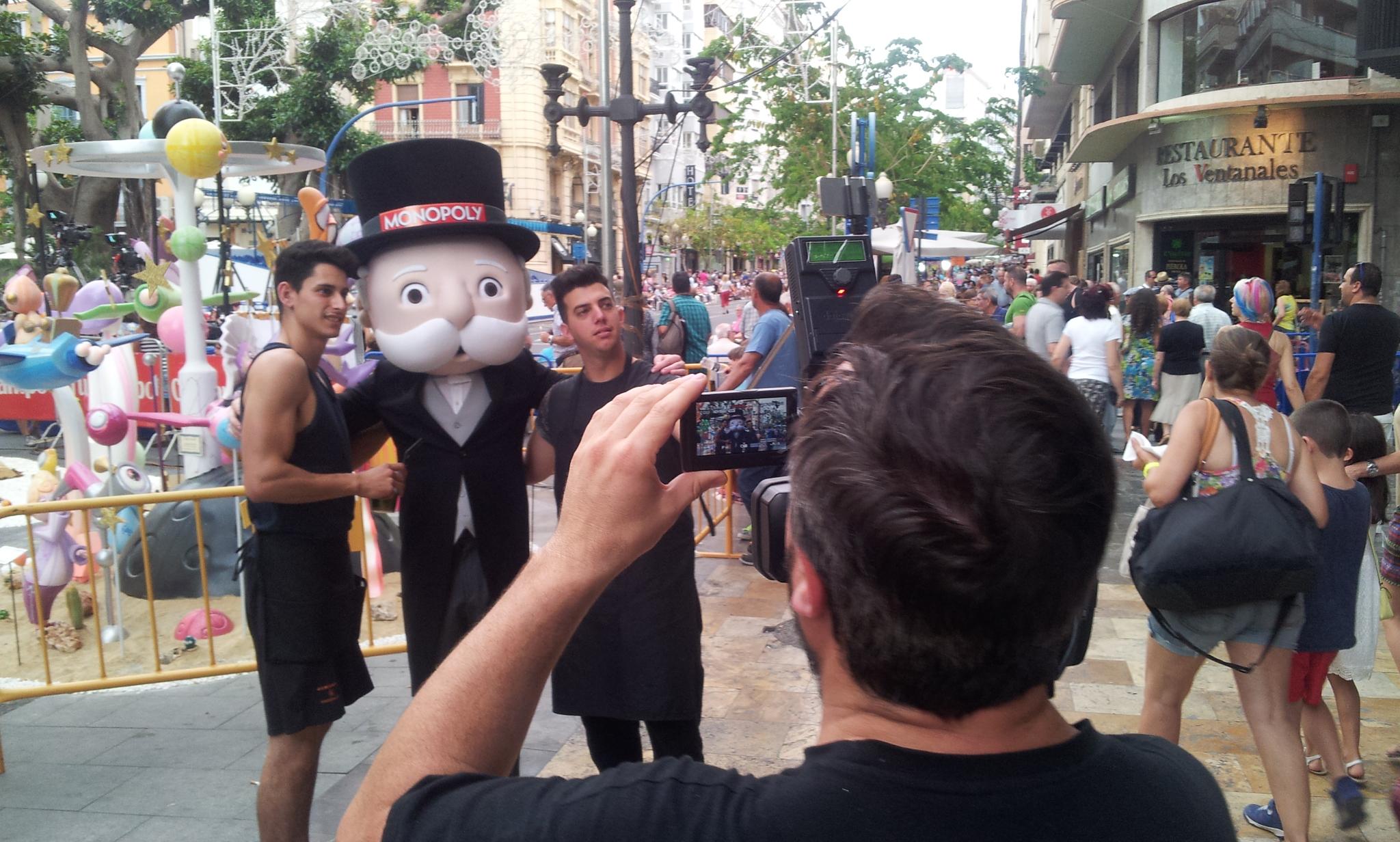 HV Producciones | Grabación ENG Monopoly