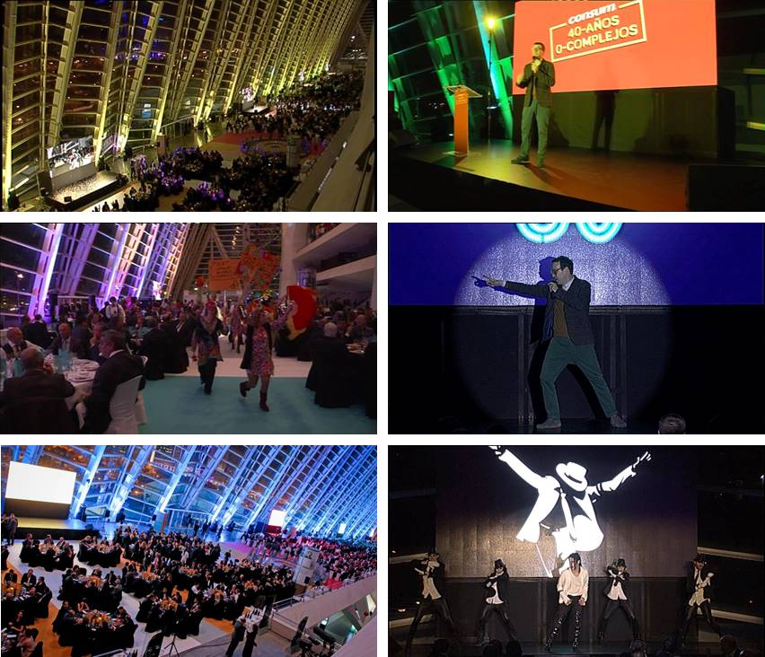 HV Producciones | Realización Audiovisual Evento Consum 40 Aniversario